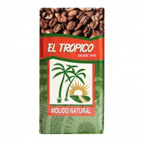 Trópico cafe molido natural de 250g.