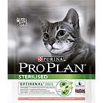 Purina Pro Plan adult optirenal sterilised alimento gatos esterilizados mantener riñones sanos con salmon de 400g. en bolsa