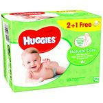 Huggies natural care toallitas bebes 192