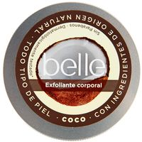 Belle exfoliante corporal coco piel normal de 20cl. en bote