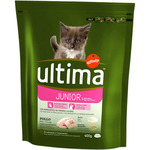 Ultima cat junior comida gatos con pollo arroz de 400g.