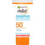 Delial leche solar sensitive advanced fp 50 resistente al agua tubo de 50ml. en viaje