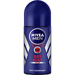 Nivea Men hombre desodorante roll on dry impact antitranspirante envase de 50ml.