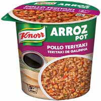 Knorr pot arroz con pollo teriyaki de 81g.
