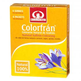 Carmencita colorfran natural por 4 unidades