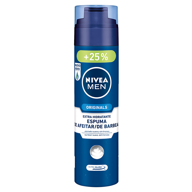 Nivea Men hombre espuma afeitar hidratante normal seca de 25cl. en spray