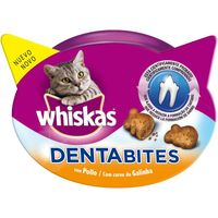 Whiskas dentabits de 50g. en tarrina