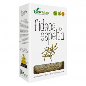 Soria Natural fideo integral de 250g.