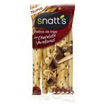 Snatts barritas tostadas chocolate avellana de 68g.