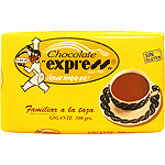 Express familiar chocolate a la taza tableta de 500g.