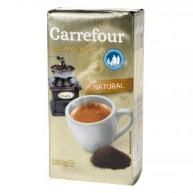 Carrefour cafe molido natural de 250g.