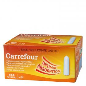 Carrefour tampones normal 32