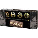 1880 turron chocolate con almendras tableta de 250g.