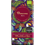 Chocolate and love chocolate negro ecológico de panamá 80% cacao tableta de 100g.