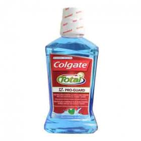 Colgate enjuague bucal total proteccion contra placa bacteriana de 50cl.