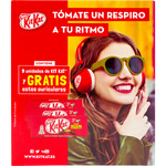 Kit Kat barritas chocolate de 373,5g. por 9 unidades