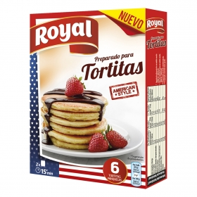 Royal tortitas preparado de 120g.