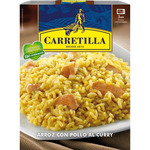 Carretilla arroz con pollo al curry envase de 300g.