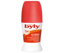 Byly desodorante roll on mujer sin perfume extrem protect de 50ml.