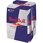 Red Bull refresco energy drink de 25cl. por 4 unidades en lata