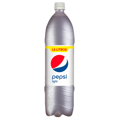 Pepsi light refresco cola 0% azucar de 1,5l. en botella