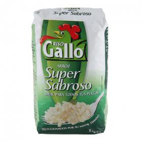 Riso Gallo arroz blanco de 1kg.