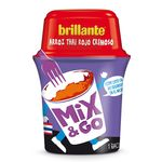 Brillante mix & go arroz thai rojo cremoso envase de 360g.