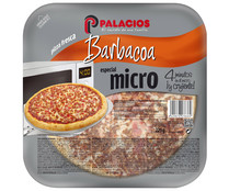 Palacios mini pizza barbacoa de 225g.