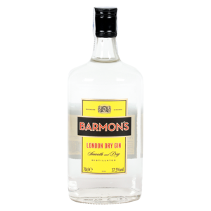 Barmons london dry gin de 70cl. en botella