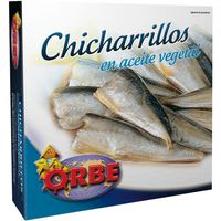Orbe chicharrillo aceite de 550g.