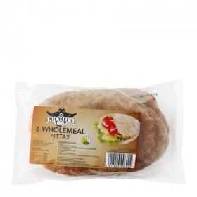 Michels pan pita integral de 400g.