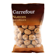 Carrefour nueces de 650g.