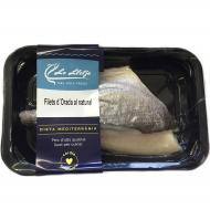 Dorada filetes natural de 200g.