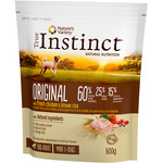 Original true instinct alimento natural perros raza mini con pollo arroz envase de 600g.