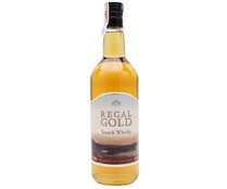 Regal whisky blended escoces gold de 1l. en botella