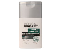 L'oreal Men balsamo after shave calmante con savia origen natural pieles sensibles hombre expert hydra sensitive de 12,5cl.