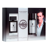 Antonio Banderas estuche hombre the secret colonia desodorante 1 de 50ml.