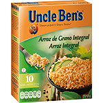 Uncle Bens arroz integral de 500g. en bolsa