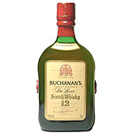 Buchanan's whisky escoces 12 años de 1l. en botella
