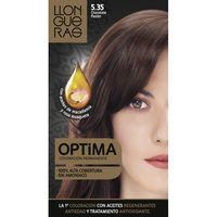 Optima tinte chocolate intenso n 5 35 llongeras en caja
