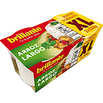 Brillante vasitos arroz largo xl de 200g. por 2 unidades