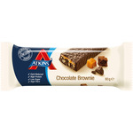 Atkins advantage barrita snacks chocolate brownie envase de 60g.
