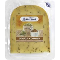 Hollandia queso gouda con comino royal cuña de 225g.