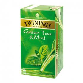 Twinings infusion te verde con menta 25