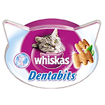 Whiskas dentabits de 40g. en tarrina