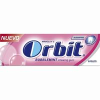 Orbit chicle bubblemint lc de 14g.