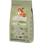 Ultima nature adult alimento completo gatos adultos elaborado con ingredientes naturales pollo fresco de 1,25kg. en paqu