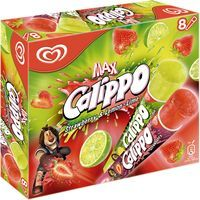 Calippo calippo 105ml lima fresa 8mp de 84cl. por 8 unidades