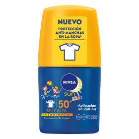 Nivea roll on solar fp 50 ni?os de 50ml.