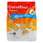 Carrefour galletas maria mini de 350g.